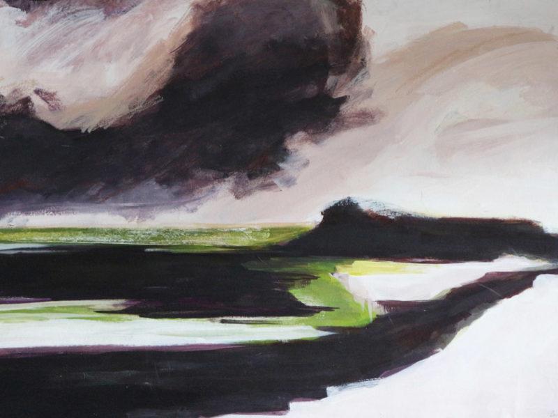 Landscape-II, 140x100cm, Mixed media, 2017