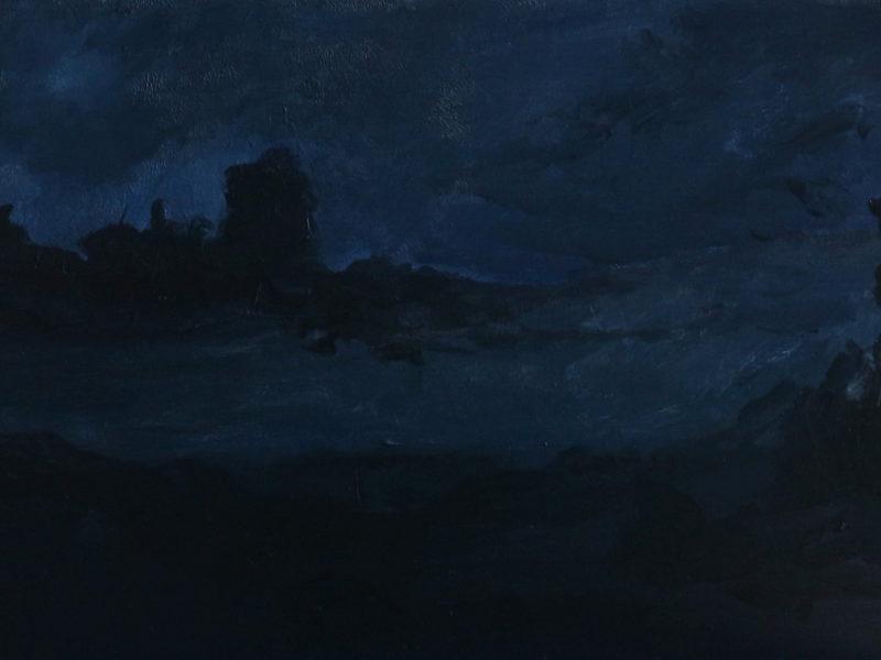 NOCTURNES 3, 30×48 cm, Acryl op paneel, 2019