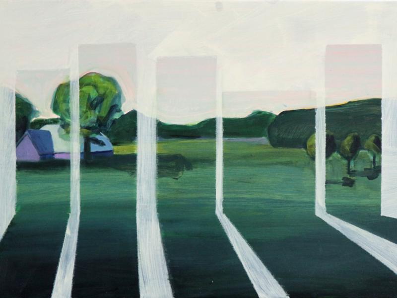 Autark Noordland, 70×50 cm, Acryl op doek, 2019