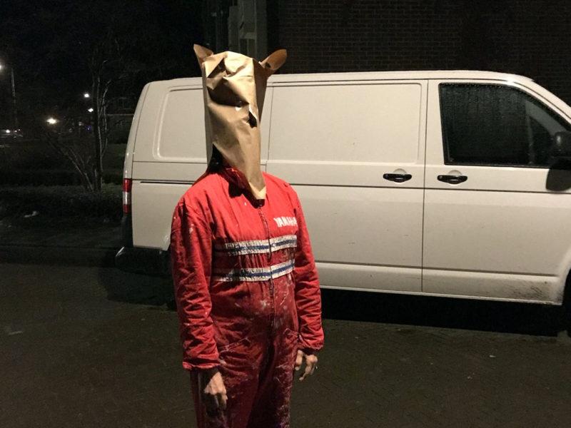 Schroef Theater – maskers gebaseerd op Steinberg