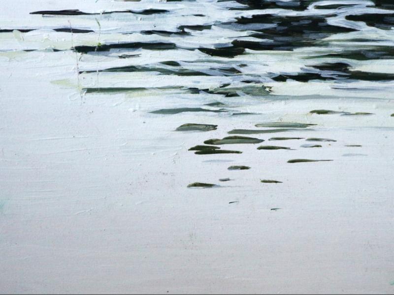 Rijn 1, 30×40 cm, Acryl op paneel, 2018