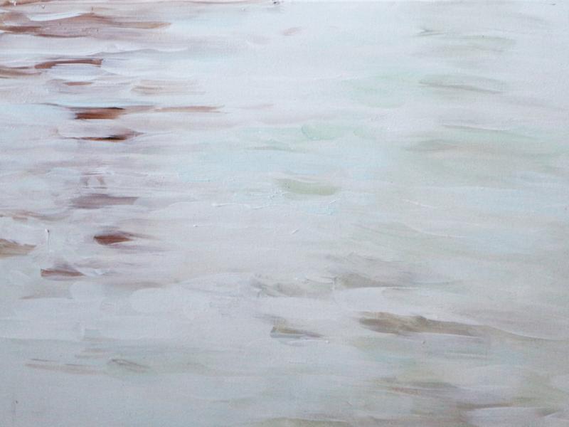 Rijn 2, 30×40 cm, Acryl op paneel, 2018